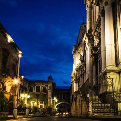 Via Crociferi Catania