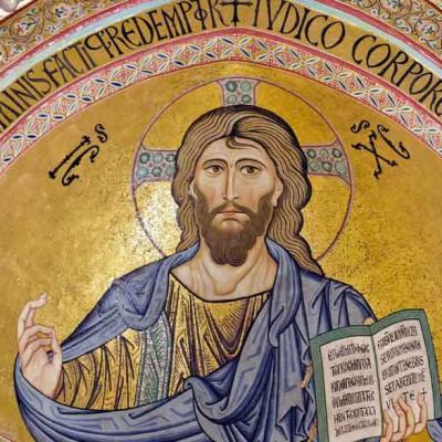 Cefalu cathedral mosaic