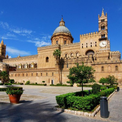 Palermo Cattedrale Piazza
