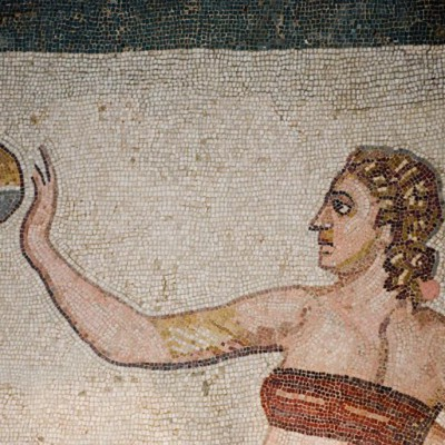 Villa Romana dettaglio mosaico