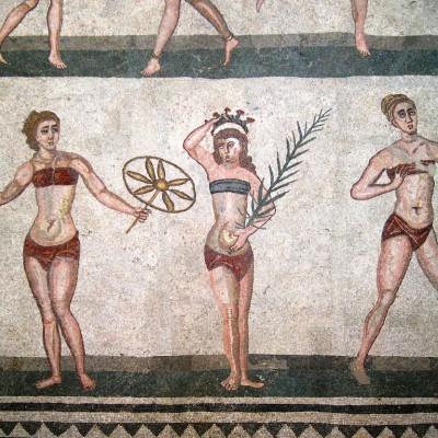 Piazza armerina mosaics