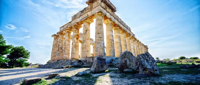 Selinunte temple