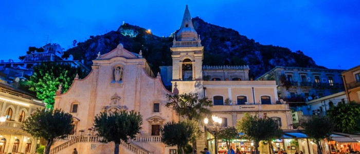 taormina city center