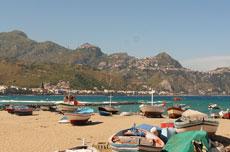 Giardini Naxos, Castelmola e Taormina